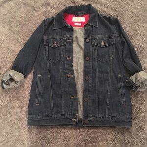 Gap Project Red denim jacket